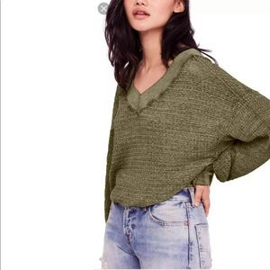 FREE PEOPLE Southside Thermal Top NWT